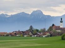 Antholing mit Bergen, Wendelstein