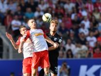 Jahn Regensburg v TSV 1860 Muenchen  - 2. Bundesliga Playoff Leg 1