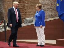 Donald Trump, Angela Merkel