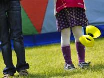 Jojospieler beim Kinderkultursommer in München, 2011
