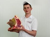 Jüngster Fleischsommelier Deutschlands Peter Heimann jun.