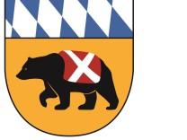Wappen der Stadt mit Bär