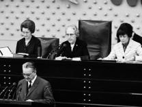Bundestagssitzung 1966