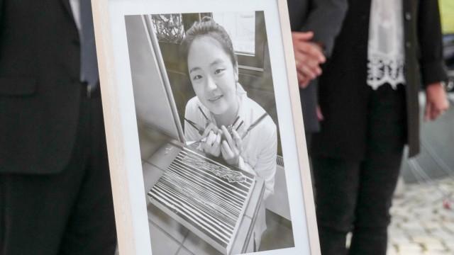 Gedenkfeier ermordete chinesische Studentin Yangjie Li