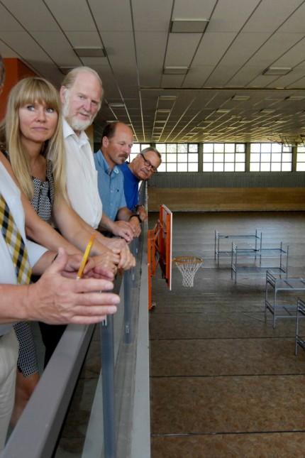 Weßling: Sporthalle/Asylbeweberunterkunft