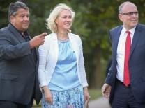 Wahlkampfabschluss der SPD in Warnemünde