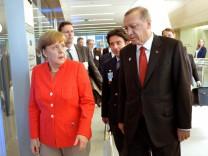 Nato-Gipfel - Merkel - Erdogan