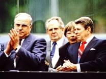 Kohl und Reagan