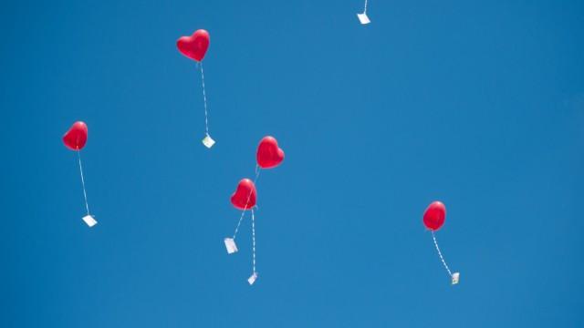 Liebesgrüße am Himmel