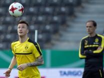 Vor DFB-Pokal-Finale - Training Borussia Dortmund