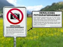 Aufregung um Fotografierverbot in Schweizer Touristendorf