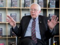 Buchvorstellung 'Unsere Revolution' von und mit Bernie Sanders