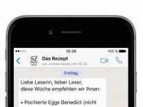 Das Rezept Messenger Services
