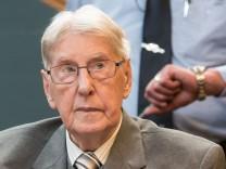 Der frühere Auschwitz-Wachmann Reinhold Hanning