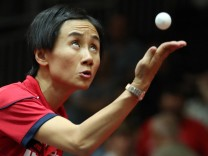 Table tennis Tischtennis ITTF WC Duesseldorf 2017 DUESSELDORF GERMANY 31 MAY 17 TABLE TENNIS