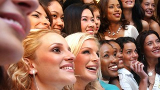 Miss World Teilnehmerinnen in London