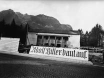 Vorbereitungen zur Olympiade in Garmisch-Partenkirchen, 1935