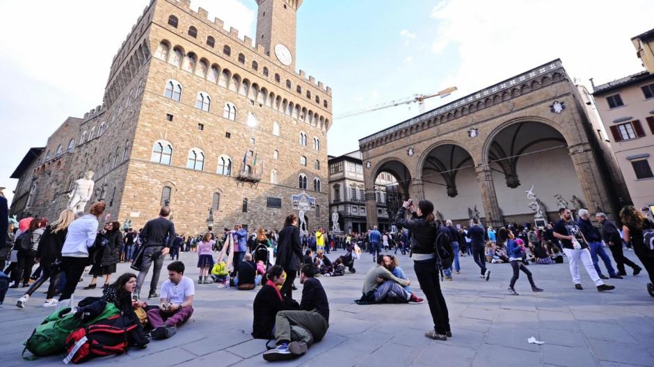 Florenz will mit Wasser gegen Touristenmassen vorgehen