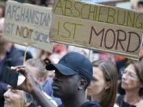 Demo gegen Abschiebung in München