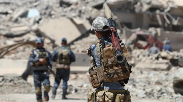 Islamischer Staat Anti-Terror-Krieg