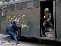 Studentendemonstrationen in Chile