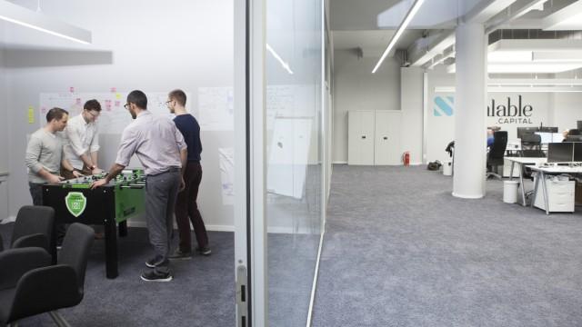 Fintech Unternehmen Scalable Capital München