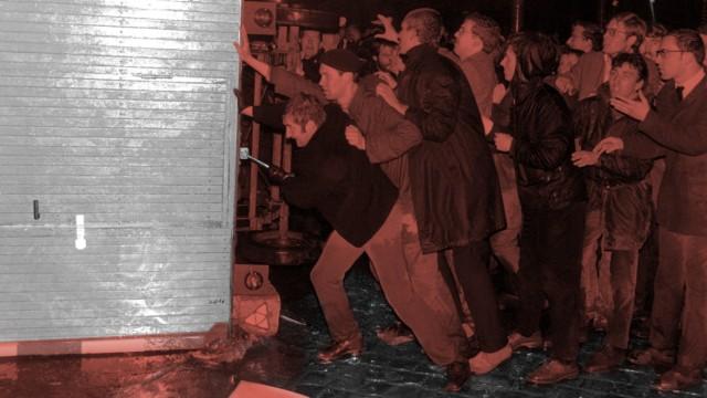 Protest gegen Springer-Presse nach Attentat auf Dutschke