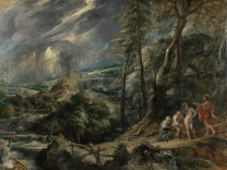 Peter Paul Rubens: Gewitterlandschaft mit Jupiter, Merkur, Philemon und Baucis