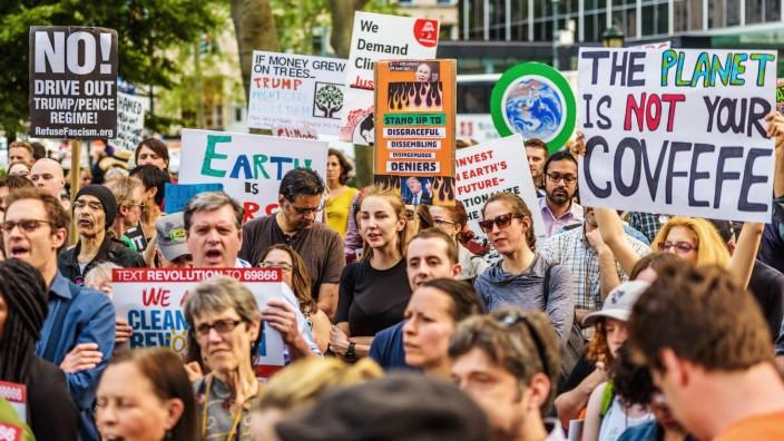 Marsch für das Klima