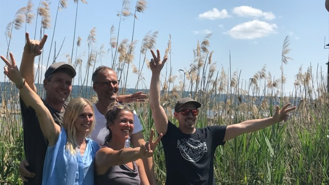 Team des Magic Lake Festivals Dießen