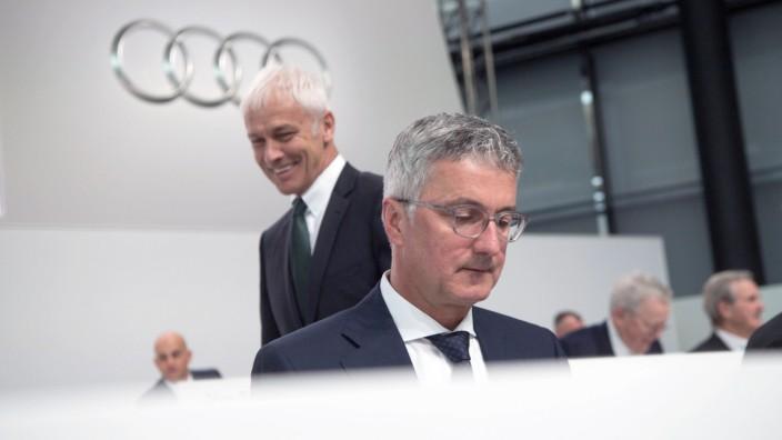 Audi Hauptversammlung