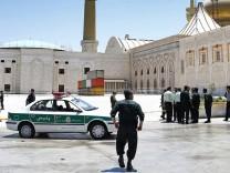 Anschlag in Teheran - Mausoleum