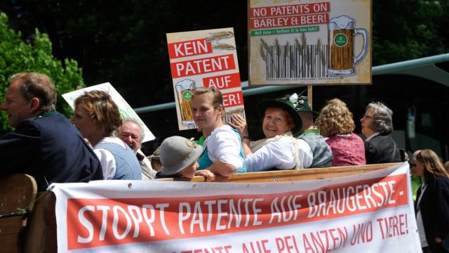 Süddeutsche Zeitung Wirtschaft Patente auf Braugerste