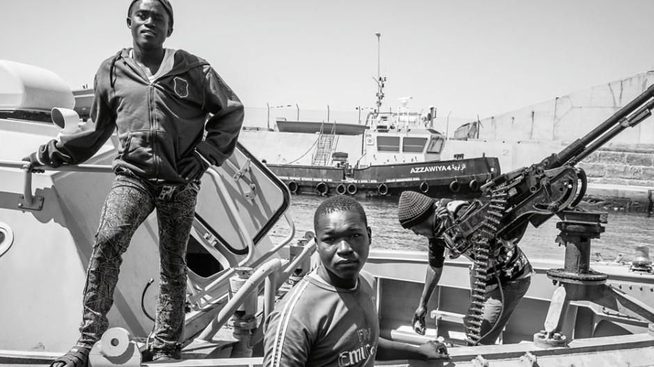 Libyen Flüchtlinge in Libyen
