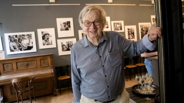 Hubertus Hierl bei der Vernissage im Restaurant Drugstore