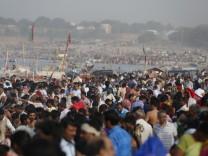 Hindu-Fest Ganga Dussehra