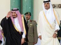 Abbruch der diplomatischen Beziehungen mit Katar