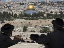 Blick auf Jerusalem