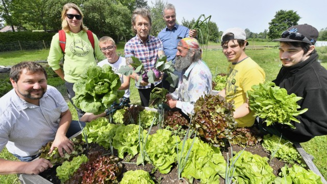 Gut Dietlhofen, Gemüsebauprojekt Stiftung Maffay