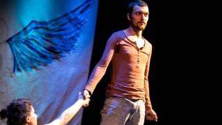 Theaterprobe Der Himmel über Tiflis, Einstein Kultur, Theatersaal