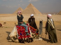 ***BESTPIX*** Tourists Visits Pyramids In Egypt After Recent Bomb Blasts