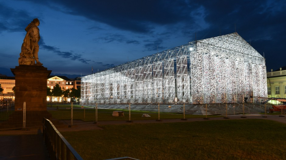 Vorbereitungen documenta Kassel