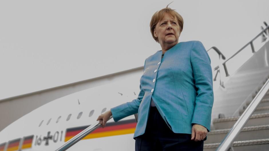 Merkel in Mexiko
