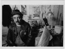Boris Lurie in his studio 1977_Foto Joseph Schneberg