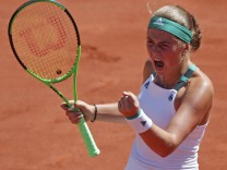 French Open - Finale Damen - Ostapenko - Halep