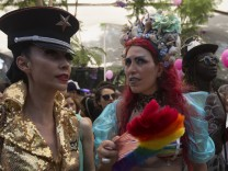 Gay-Pride-Parade in Tel Aviv