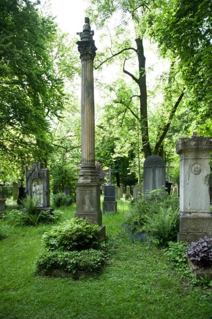 Grab von Friedrich Bürklein auf dem Alten Südfriedhof in München, 2013