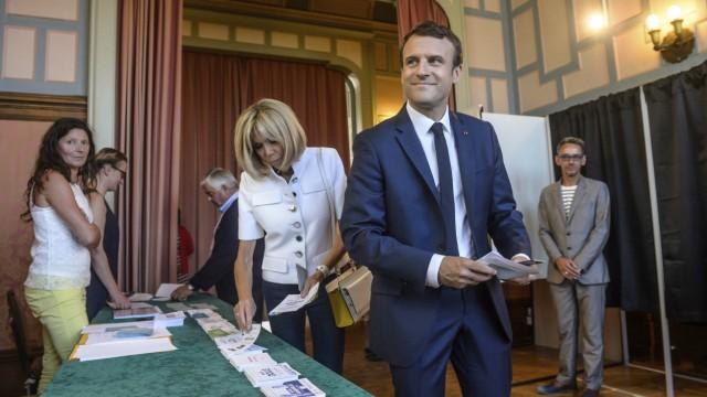 Wahl in Frankreich Frankreich