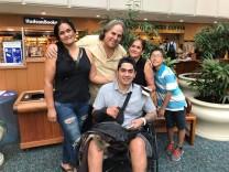 Juan Jose Cufiño Rodriguez, Überlebender des Attentats auf den Nachtclub Pulse (12.6.2016) in Orlando, Florida
