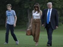 Familie Trump vereint zu Hause
